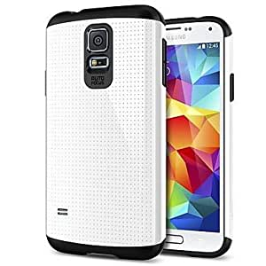 The Armor protection sleeve case for Samsung Galaxy S5 I9600 - White