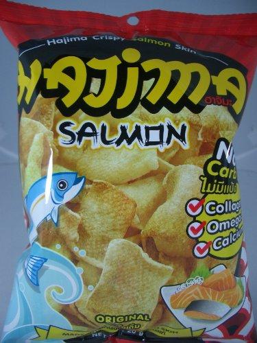 Hajima Salmon Skin No Carb Snacks Original Flavor 1 X 20 G