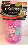 Tommee Tippee Explora easiflow active sipper 12m+ BPA Free Truly Non Spill PINK