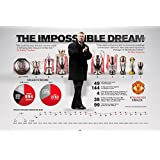 HungOver Manchester United Sir Alex Record Poster 2x18 Inches HungOver Official Artwork