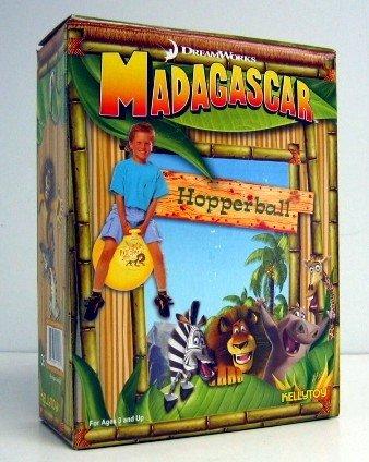 """Madagascar """"I Escaped the Zoo"""" Hopper Ball"""