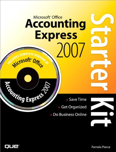 Microsoft Office Accounting Express 2007 Starter Kit