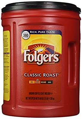 Folgers 100% Mountain Grown Classic Roast Ground Coffee - 48 oz from Folgers