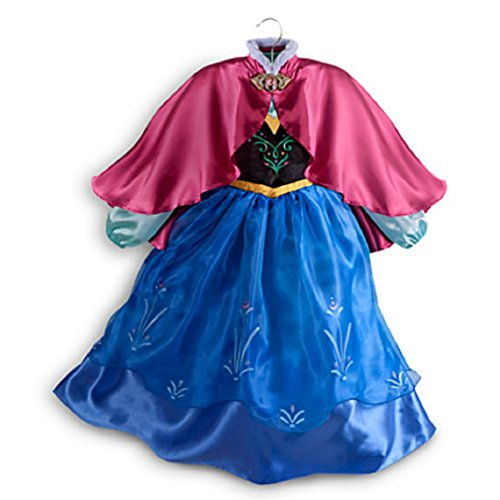 Disney Anna Costume for Girls - Frozen - Size 5/6 - NEW
