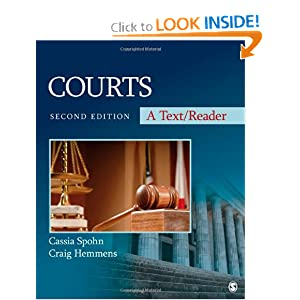 Courts: A Text/Reader (Sage Text/Reader Series in Criminology and Criminal Justice) book
