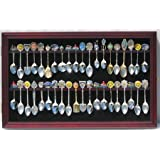 36 Spoon Display Case Cabinet Holder Rack