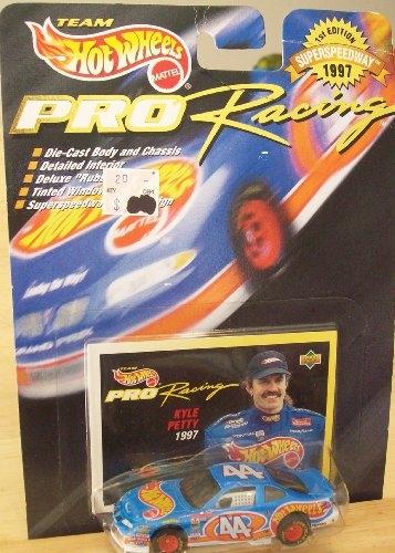 HOT WHEELS PRO RACING 1ST EDITION SUPERSPEEDYWAY 1997 KYLE PETTY - 1