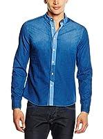 Energie Camisa Vaquera (Azul)