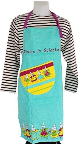Tablier de cuisine Breton - Collection J'aime la Galette