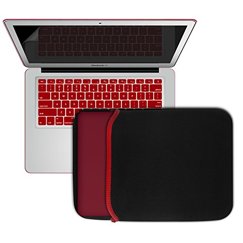 Buy Bargain Macbook-Air-13-Case, SlickBlue Hard Case Frosted for MacBook Air 13.3 inch With Sleeve B...