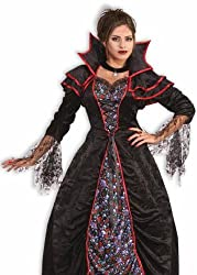 Forum Lady Dracula Gothic Skull Adult Halloween Costume Std
