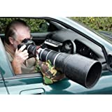 Grippa Bean Bag. Support pour téléobjectif pour la photographie animalière depuis un véhicule.
