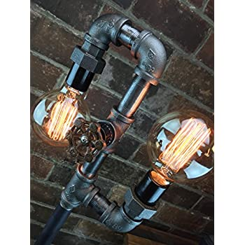 Industrial Style Floor Lamp - Multi Bulb Edison Floor Lamp