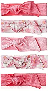 Emi-Jay Set of 5 Hair Ties, Full Bloom