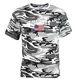 CafePress Hollister US Flag Dark T-Shirt