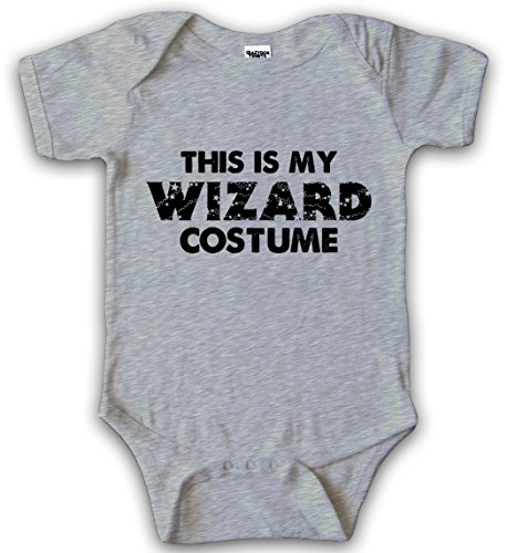 Baby This Is My Wizard Costume Halloween Bodysuit Creeper for Infants