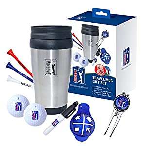 PGA Tour Travel Mug Set - Blue from PGA Tour