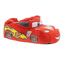 Disney Cars Kids Lightning McQueen Car Slippers