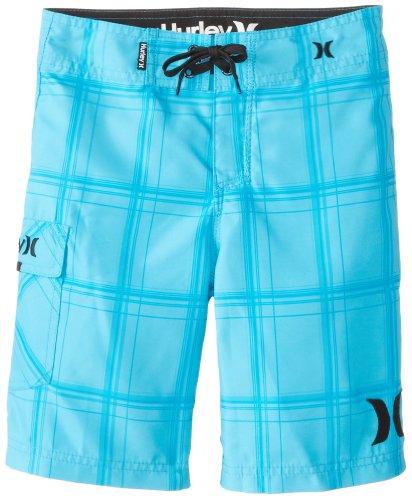 Hurley Big Boys' Pr Boardshort, Electric Blue, 18 front-754867