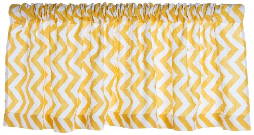 Sweet Potato Window Valance, Swizzle