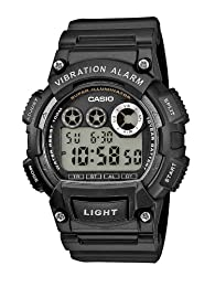 Casio W-735H-1AVEF Men's Resin Strap Digital Watch