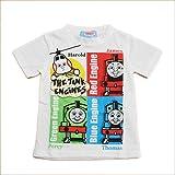 きかんしゃトーマス 半袖Tシャツ 100cm/110cm/120cm (642TM0011-A) (120cm)