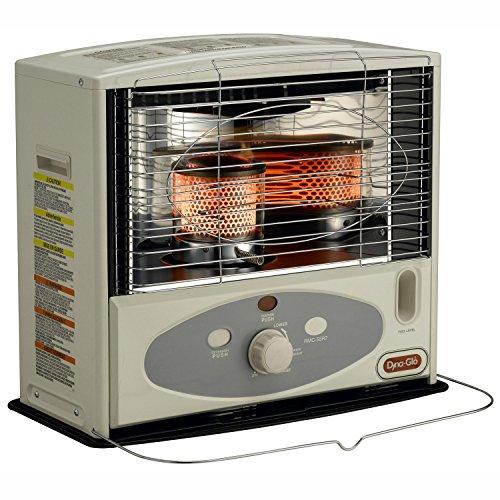 Dyna-Glo RMC-55R7 Indoor Kerosene Radiant Heater, 10000 BTU, Ivory (Indoor Radiant Heater compare prices)