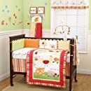 Coco Company Baby Farm 4 Piece Crib Bedding Set