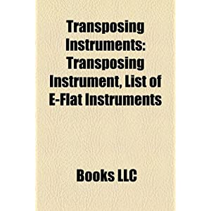 Amazon.com: Transposing Instruments: Transposing Instrument, List ...