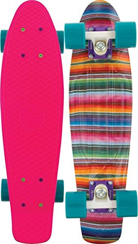 Penny Graphic Complete Skateboard, Baja Pink, 22-Inch Athletics, Exercise, Workout, Sport, Fitness скейтборд other ps001 free shipping 22 penny mini cruiser skateboard penny board