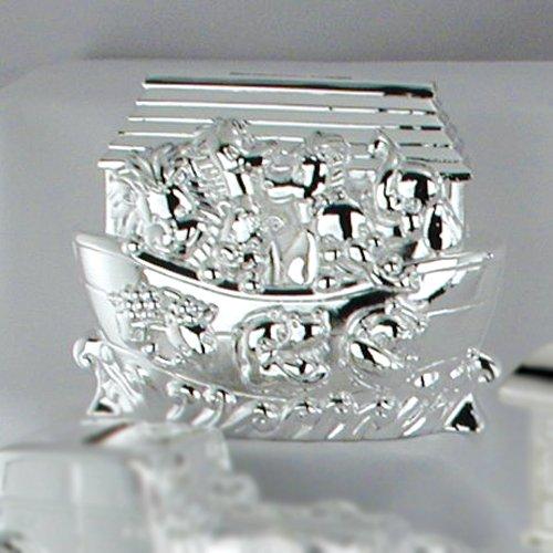 Silver-Plated Noah'S Ark Bank