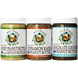 Wild Friends Peanut butter 3 pack: honey pretzel + cinnamon raisin + chocolate coconut