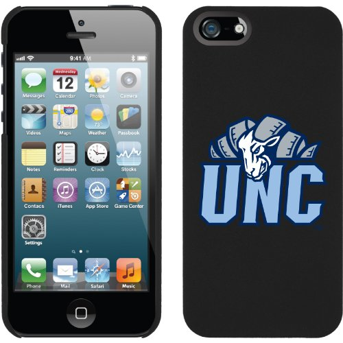 Great Sale North Carolina Ram UNC design on a Black iPhone 5s / 5 Thinshield Snap-On Case by Coveroo