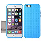 iPhone 6 Case, with Money Clip Slim Fit Premium Flexible TPU Case For Apple iPhone 6(4.7-inch) (iPhone 6(4.7-inch), Blue)