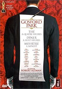 Gosford Park - Édition Collector 3 DVD