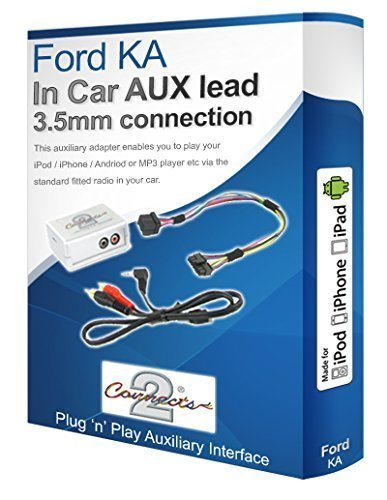 AUX-In-Adapter-Schnittstelle-fr-iPod-iPhone-MP3-Player-Fr-Ford-KA