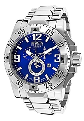 Invicta Men's 15308 Excursion Analog Display Swiss Quartz Silver Watch