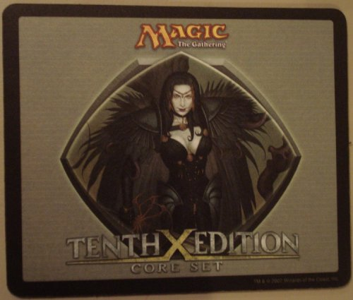 Tenth Edition Magic the Gathering Mouse Pad: Black