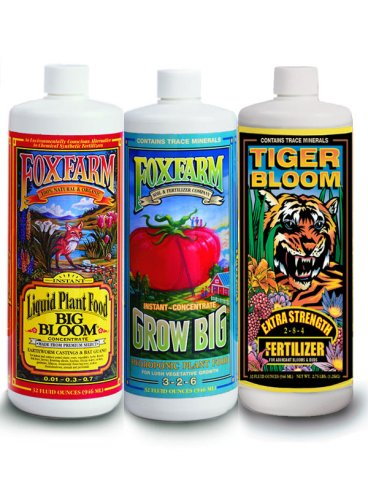 Fox Farm Hydroponic Nutrient Trio - 3 Quart Pack at Sears.com