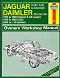 Peter G. Strasman Jaguar XJ12, XJS and Daimler Sovereign Double Six Owner's Workshop Manual (Service & repair manuals)