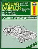 Peter G. Strasman Jaguar XJ12, XJS and Daimler Sovereign Double Six Owner's Workshop Manual (Service & repair manuals)