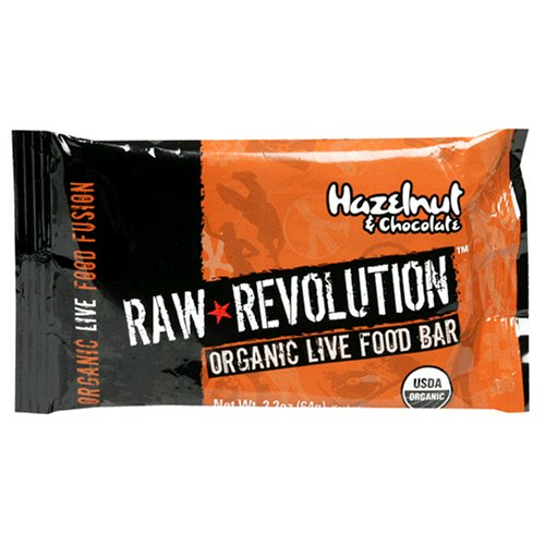 Buy Raw Revolution Organic Live Food Bars, Hazelnut and Chocolate, 2.2-Ounce Bars (Pack of 12) (Raw Indulgence, Health & Personal Care, Products, Food & Snacks, Breakfast Foods)