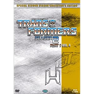 Transformers Season 2 Part 1, Vol. 4 movie