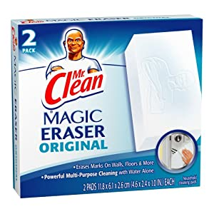 Mr Clean Erase and Renew Magic Eraser, Original, 2-Count