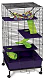 Super Pet My First Home Deluxe Multi-Level Pet Home with Stand