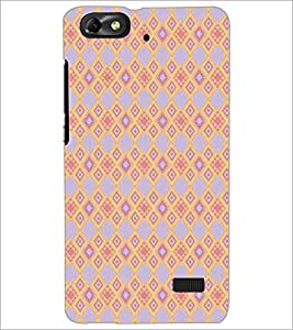PRINTSWAG DIAMOND PATTERN Designer Back Cover Case for HUAWEI HONOR 4C