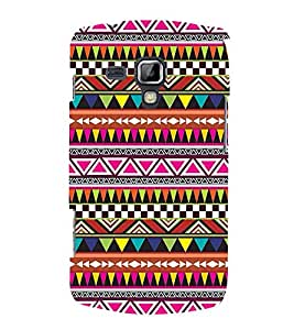 Festival Pattern 3D Hard Polycarbonate Designer Back Case Cover for Samsung Galaxy S Duos 2 S7582