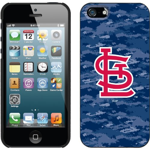 Special Sale St. Louis Cardinals - Digi Camo Color design on a Black iPhone 5s / 5 Thinshield Snap-On Case by Coveroo