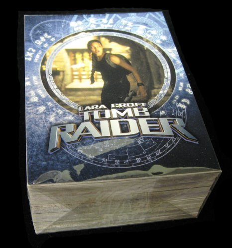 2001 Inkworks Lara Croft Tomb Raider Trading Card Set (90) NM/MT - 1
