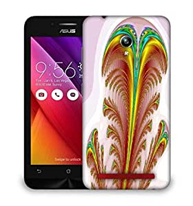 Snoogg Feather Designer Protective Phone Back Case Cover For Asus Zenfone GO
